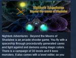 Nightork Adventures Beyond the Moons of Shadalee STEAM