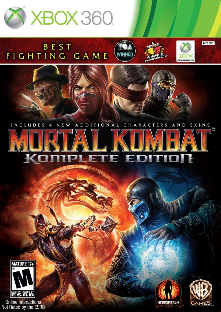 Mortal Kombat + Season + 5 games|Xbox 360|Shared Ac💚