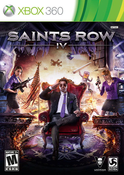 Saints Row 4 + Watch Dogs | Xbox 360 | Shared account