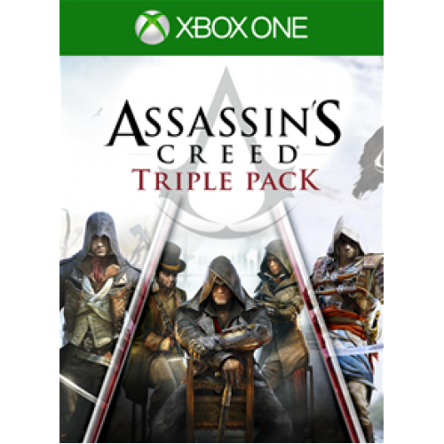 Rent | Assassins Creed Triple Pack | Xbox One✅
