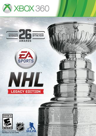 FIFA 18+NHL Legacy Edition|Xbox 360|Shared account
