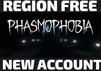 Phasmophobia [Steam] New account | First Mail  (Global)