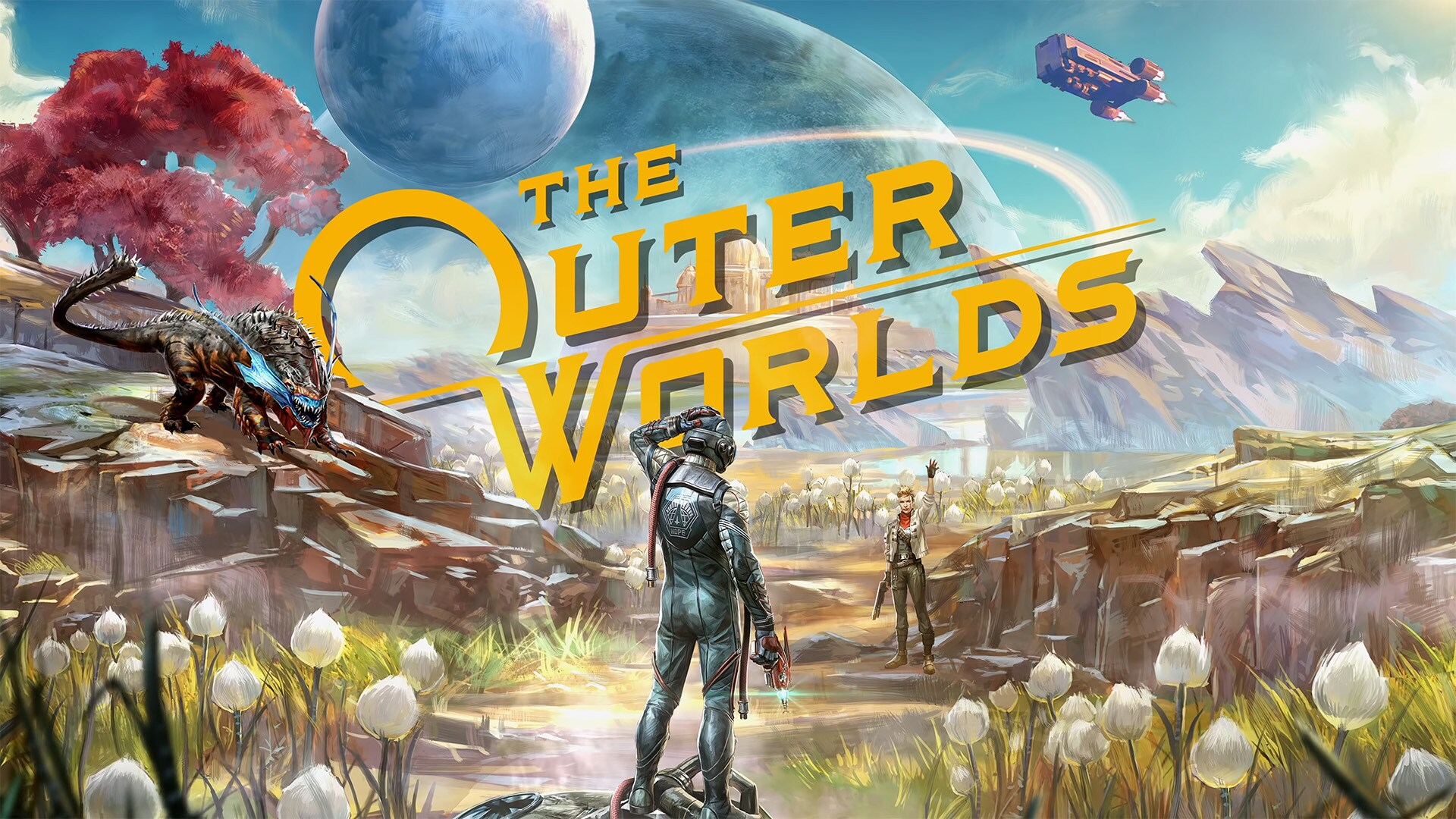 THE OUTER WORLDS EPIC + WARRANTY
