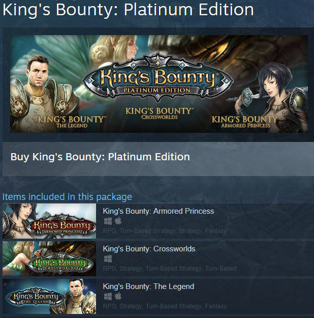 King´s Bounty: Platinum Edition (Steam Gift / ROW)