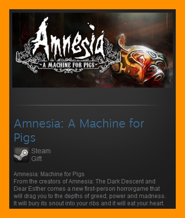 Amnesia: A Machine for Pigs (Steam Gift / Region Free)