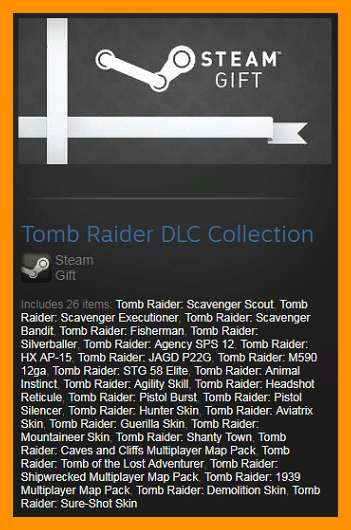 Tomb Raider 2013 DLC Collection (Steam Gift / ROW)