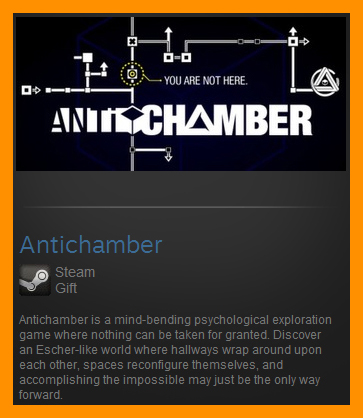 Antichamber (Steam Gift / ROW / Region Free)