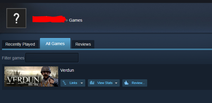 Verdun / New Steam account / Region Free