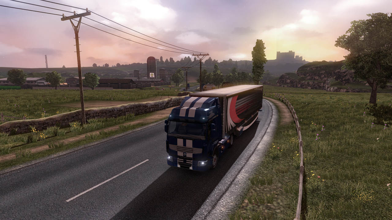 Euro Truck Simulator 2 (Steam Gift / RU CIS)