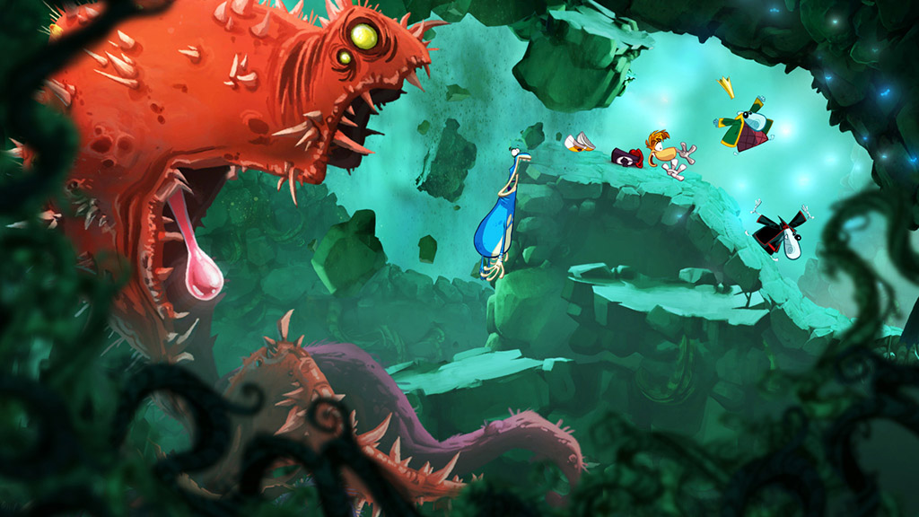Rayman Origins (Steam Gift / ROW / Region Free)