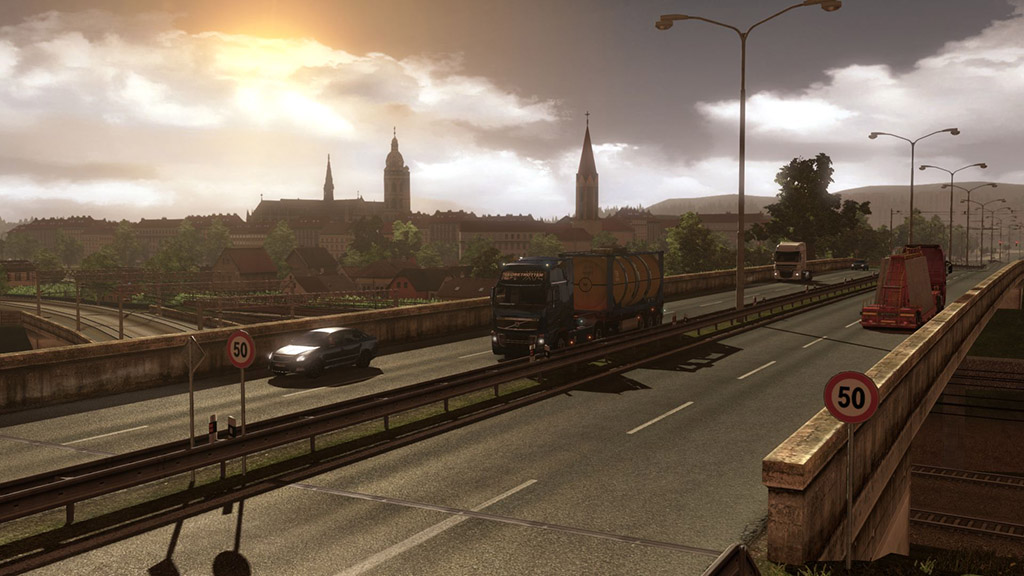 Euro Truck Simulator 2 - Going East! DLC (Steam Gift)