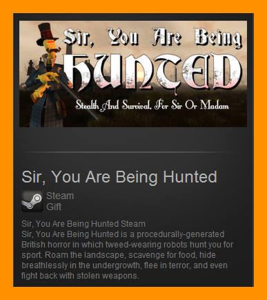 Sir, You Are Being Hunted (Steam Gift / Region Free)