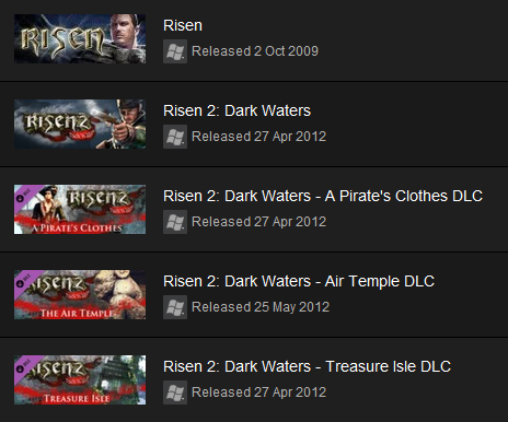 Risen Collection (Steam Gift / Region Free) + ПРИЗ
