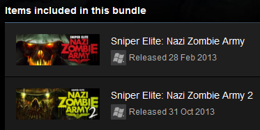 Sniper Elite: Nazi Zombie Army Bundle (Steam Gift / Reg