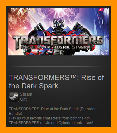 TRANSFORMERS Rise of the Dark Spark Preorder / Gift ROW