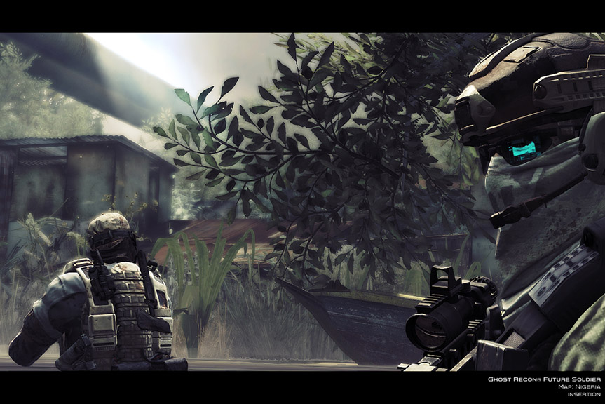 T.Clancys Ghost Recon Future Soldier (Steam Gift ROW)