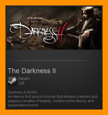 The Darkness II 2  (Steam Gift / ROW / Region Free)