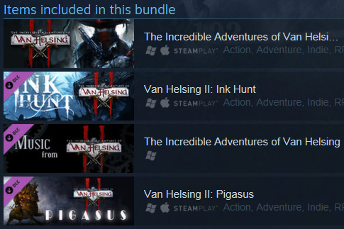 Van Helsing II: Complete Pack (Steam Gift / RegionFree)