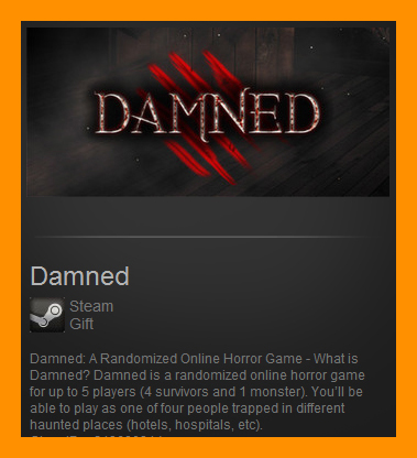Damned (Steam Gift / ROW / Region Free)