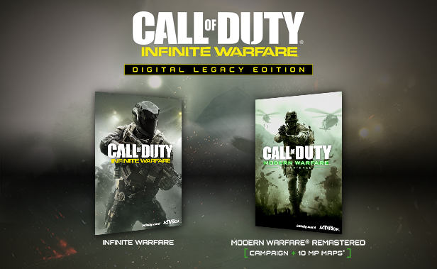 Call of Duty: Infinite Warfare Legacy SteamGift RU/CIS