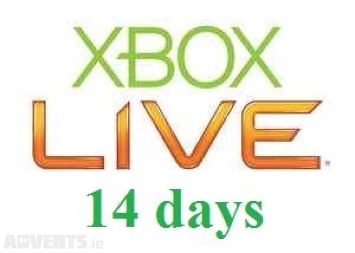 Xbox Live - 14 days (all countries + Russia)