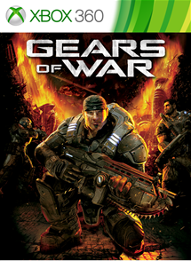 Gears of War xbox 360 SCAN