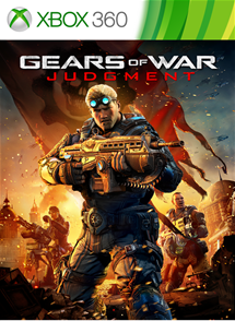 Gears of War: Judgment  для Xbox 360 SCAN
