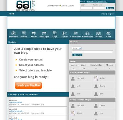 Create your own blog service