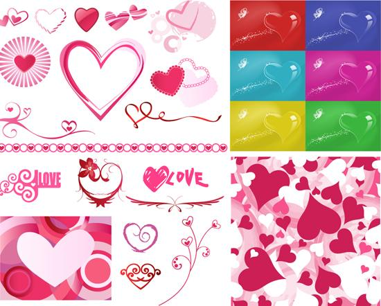 Vector love Templates