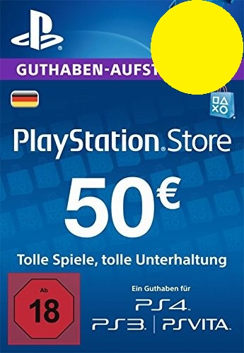 PSN Gift Card Code DE €50 EUR for PS4, PS3, PS Vit