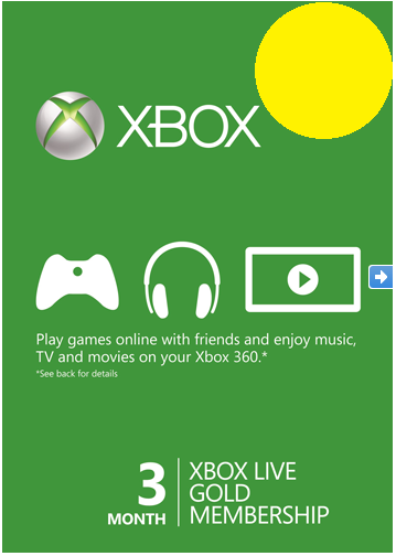 Xbox Live Gold - 3 month all countries + Russia Xbox
