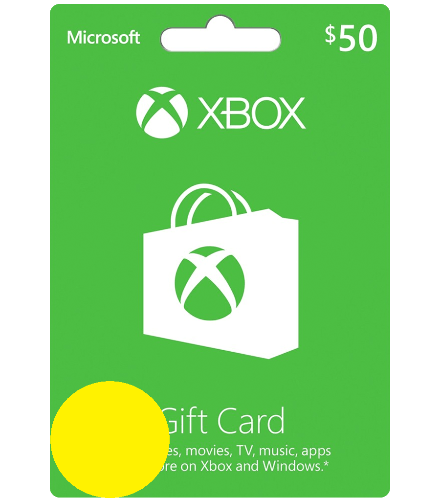 Xbox $50 Gift Card - Digital Code USA