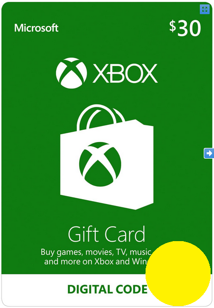 Xbox $30 Gift Card - Digital Code USA