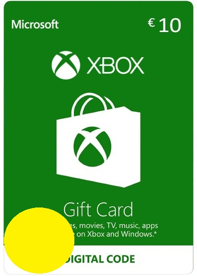 Xbox €10 EURO Gift Card - Digital Code