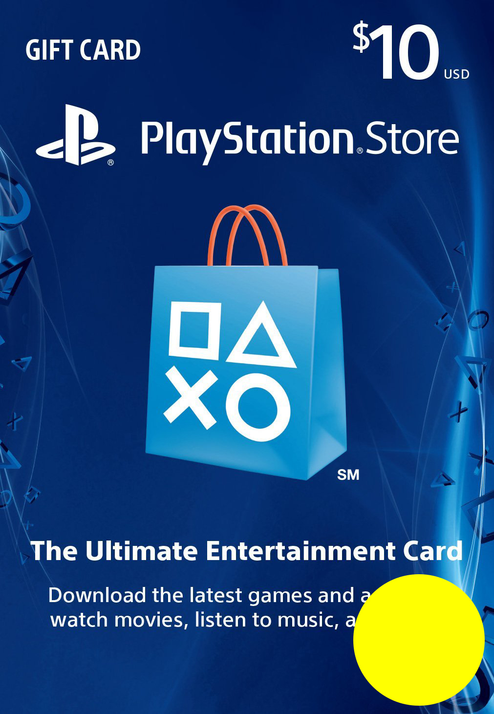 PSN Gift Card Code USA $10 PS4, PS3, PS Vita