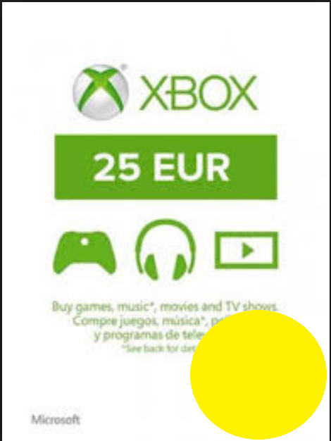 Xbox €25 EUR Gift Card - Digital Code
