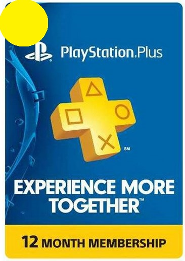 12 months PlayStation Plus PS+ Membership USA