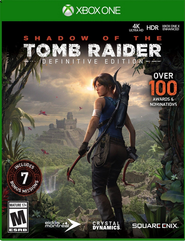 Shadow of the Tomb Raider Definitive Edt. Xbox One РУС