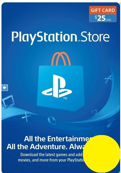 PSN Gift Card Code USA $25 PS4, PS3, PS Vita