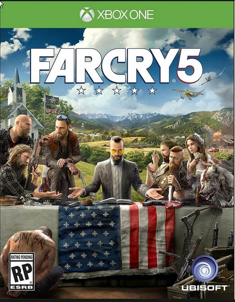 Far Cry 5 Xbox One region free CODE