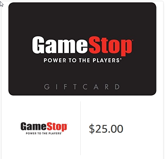 Gamestop Gift Cards - E-mail Delivery 2019