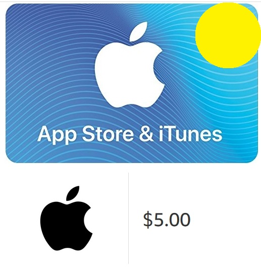 iTunes Gift Card $5 - USA (Digital Code)