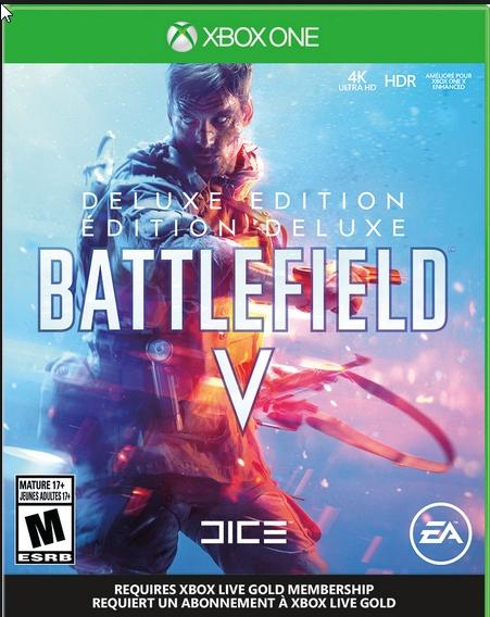 Battlefield V Deluxe Xbox One / Global CODE 2019