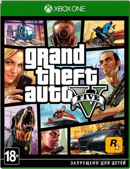 Grand Theft Auto V Xbox One region free CODE