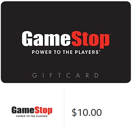 $10 Gamestop Gift Cards E-mail Delivery USA