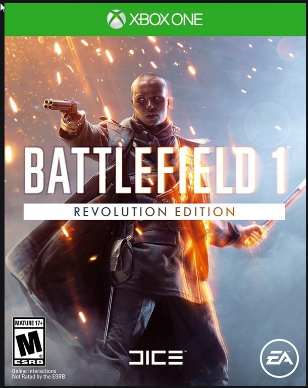 Battlefield 1 Xbox One Global CODE +2 game
