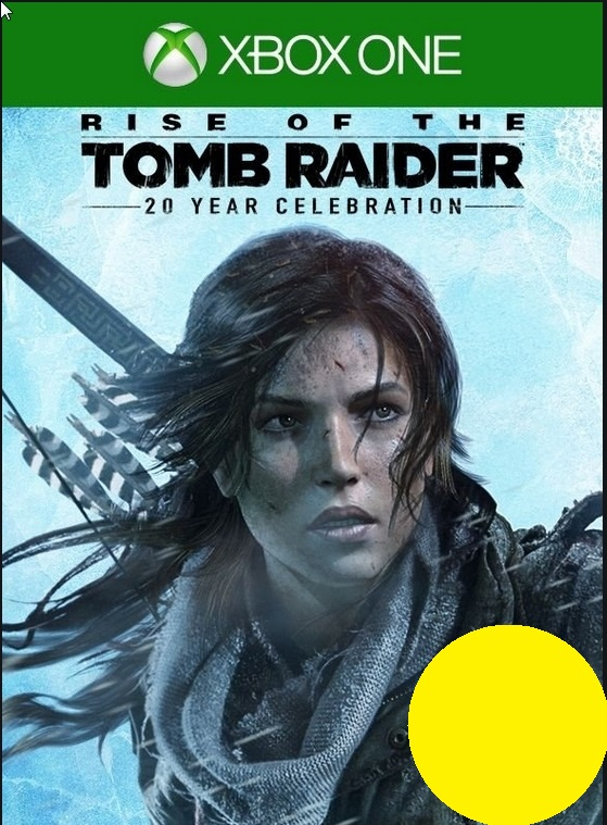 Rise of the Tomb Raider 20 Year xbox one CODE
