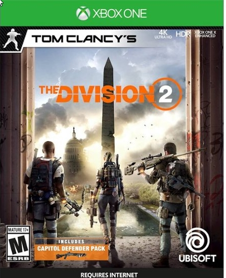 The Division 2 Xbox One CODE