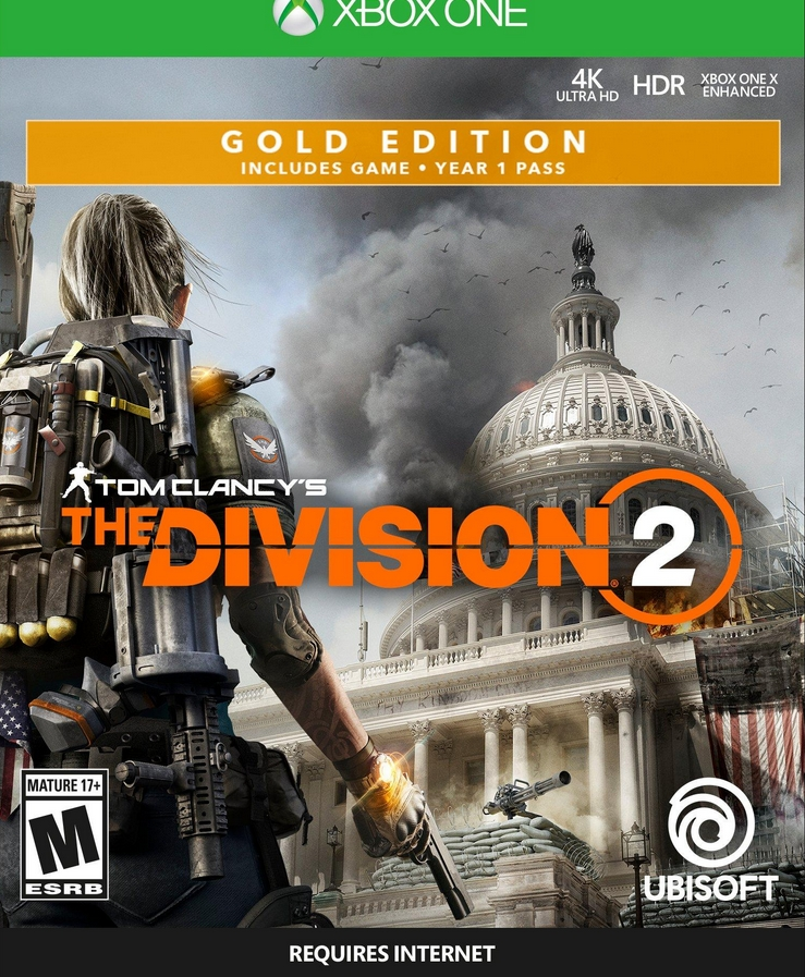 The Division 2 Gold Edition Xbox One CODE