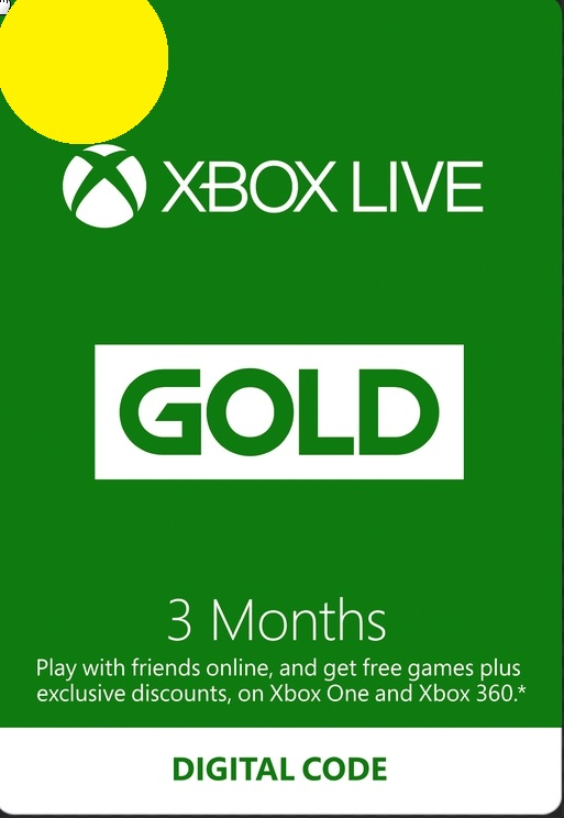 Xbox Live Gold 3 Месяца USA key